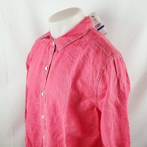 Tommy Bahama Sea Glass Breezer Button Front XL